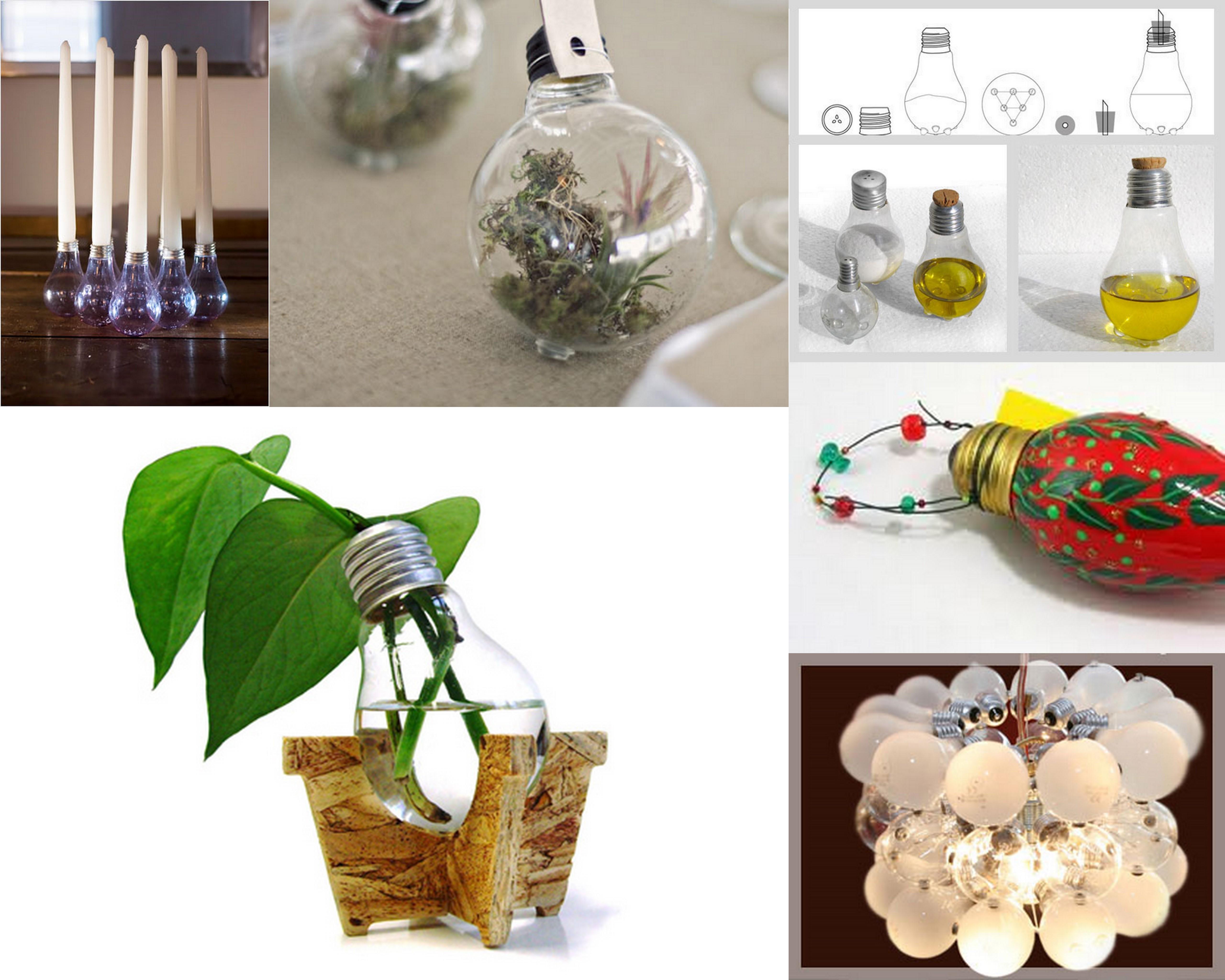 Riciclare Lampadine Rotte ~ Ispirazione design casa