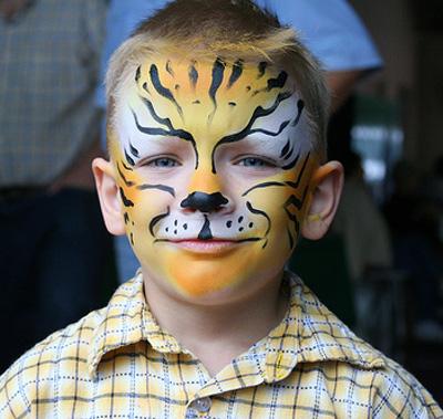 Go mamma truccabimbi tigre for Immagini tigre da colorare
