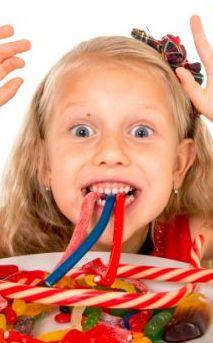 Bambini: no dolci e bibite gasate