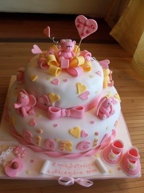 Amato torta per battesimo | Go Mamma! BQ15