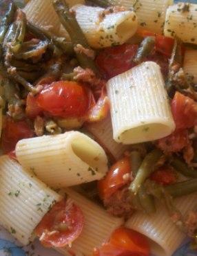 ricetta-pasta-fagiolini-e-tonno
