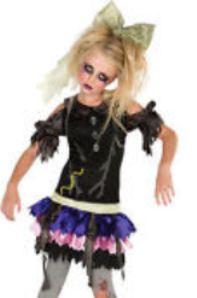 saldi Acquista autentico stile moderno halloween costume da bambola assassina | Go Mamma!