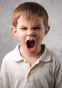 bambini e rabbia