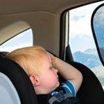 Bimbi in auto: mai più da soli