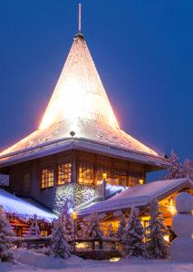 Lapponia Casa Di Babbo Natale Video.Lapponia Casa Babbo Natale