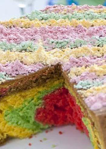 torta-soffice-arcobaleno