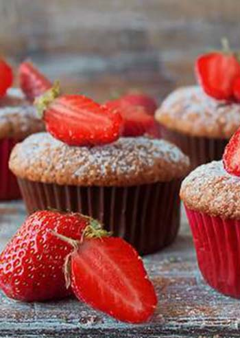 muffin-alle-fragole